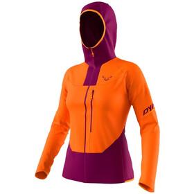 Dynafit Traverse DST Jacket Women, naranja/violeta
